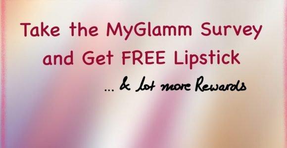 Take the MyGlamm Survey and Get FREE Lipstick