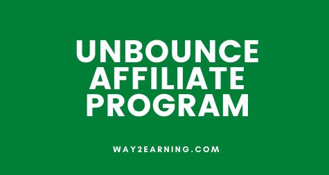 Unbounce Partner Program (Affiliate): Join And Earn 20% Cash