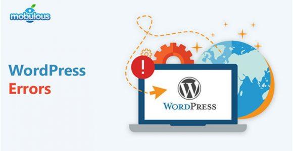 Top 3 Common WordPress Errors & How to fix it?