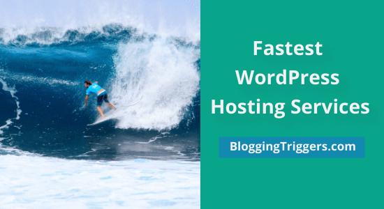 Top 5 Fastest WordPress Hosting Services