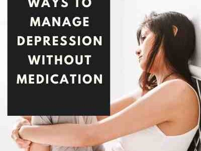 How to manage depression without medication – FemmAllure