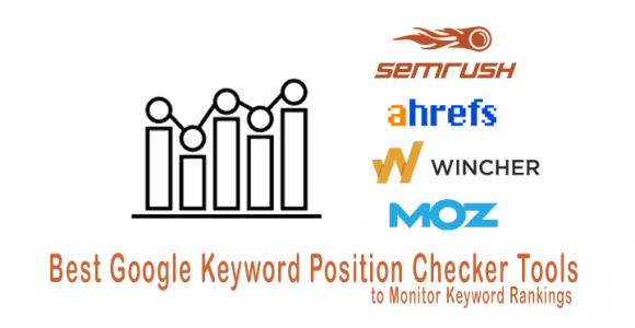 Best Google Keyword Position Checker Tools