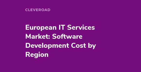 European IT Services Market: Software Development Cost by Region