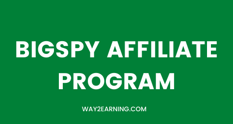 BigSpy Affiliate Program: Promote And Earn 20% Commission