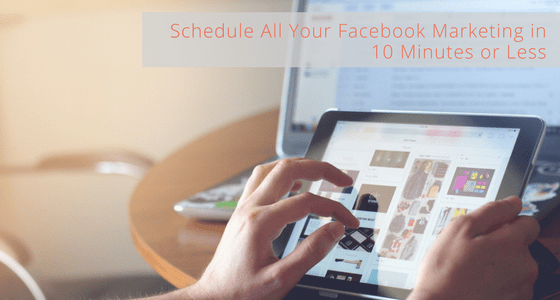 Schedule All Your Facebook Marketing with JARVEE in 10 Minutes or Less