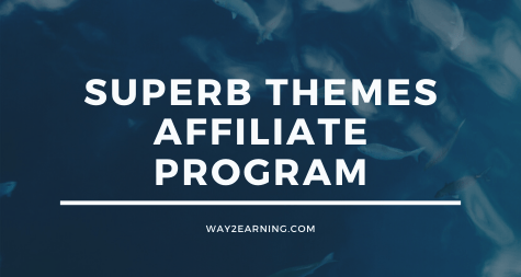 Superb Themes Affiliate Program: Refer And Earn Cash