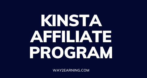 Kinsta Affiliate Program (2021): Promote And Earn Profits