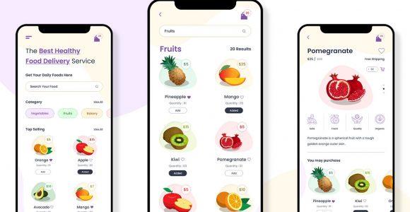 Grocery App UI | Grocery App Development