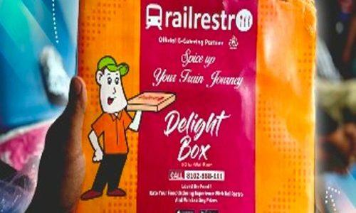 Food on train