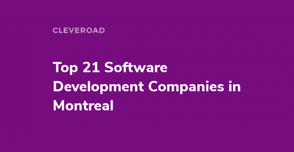 Software Companies in Montreal
