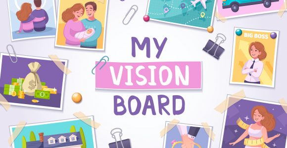 How To Create A Powerful Vision Board That Works? | GetSetHappy