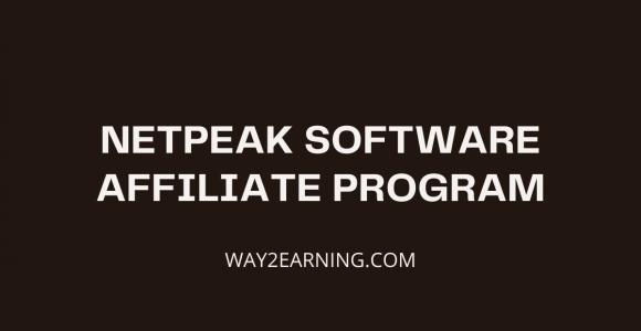 Netpeak Software Affiliate Program: Recommend And Earn Cash