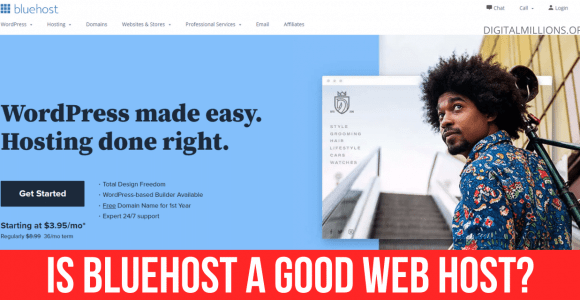 Is Bluehost a Good Web Host for Beginners? (My Review)