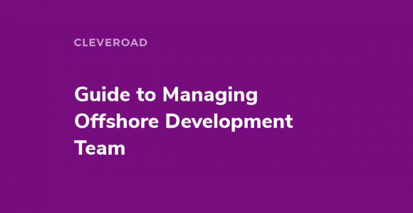 Managing Offshore Development Teams