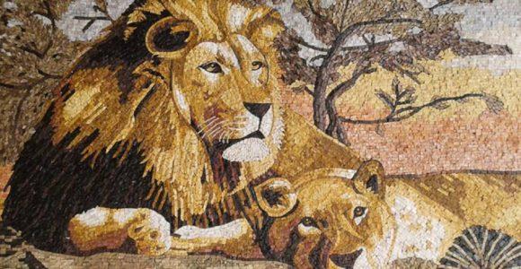 10 Mesmerizing Examples of Tiger Mosaics