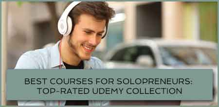 Best Courses For Solopreneurs: Top-Rated Udemy Collection