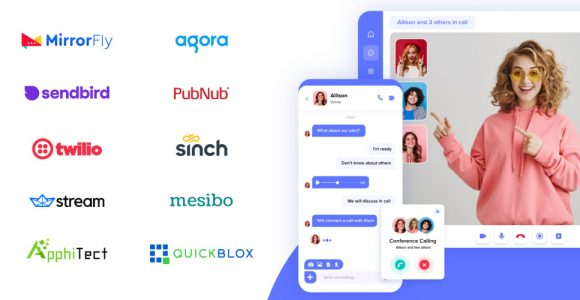 World's Best 10 Chat, Video and Video Calling API & SDK Providers for iOS, Android, and Web [September 2021]