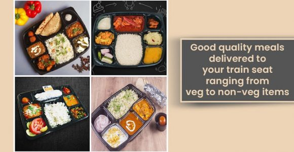 Good Quality Meals Delivered To Your Train Seat Ranging From Veg To Non-veg Items