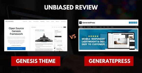 Genesis vs GeneratePress – Winner is Already Known!