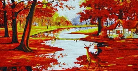 Perfect Fall Mosaic Murals for Your Walls