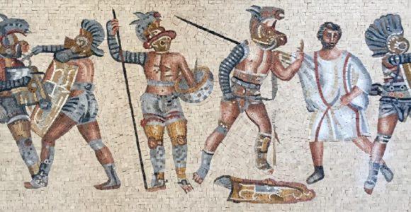 Mesmerizing Beauty of Ancient Mythology captured through mosaic art
