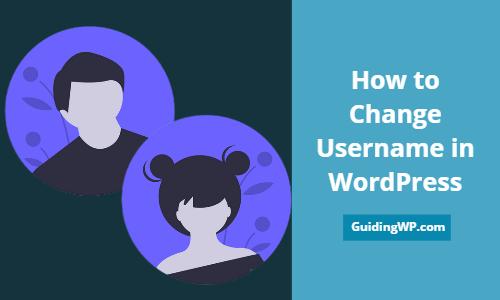 How to Change Username in WordPress