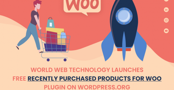 World Web Technology launches free recently purchased products for woo plugin on WordPress.org