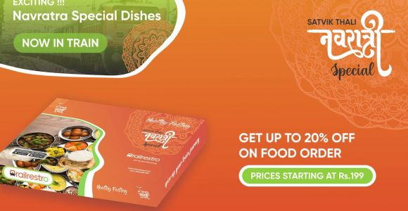 Navratri Special Food on Train | Get Up to 20% Off | RailRestro